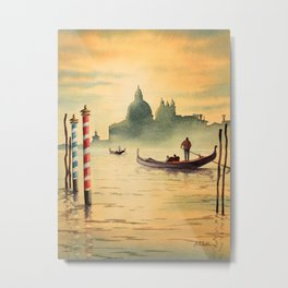 Venice Italy Grand Canal Metal Print