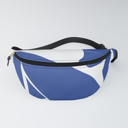 Matisse blue woman print, abstract woman print Fanny Pack