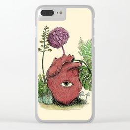 Naturalez, natura, nature. Clear iPhone Case