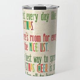 Buddy the Elf! The Code of Elves Travel Mug