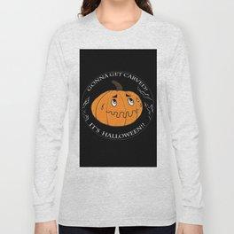 The scared Pumpkin! Halloween Long Sleeve T-shirt