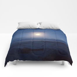 Westport by moonlight Comforters
