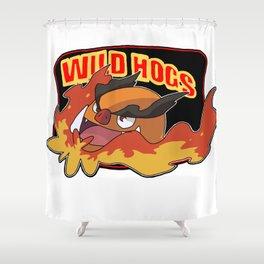 Wild Hogs Shower Curtain
