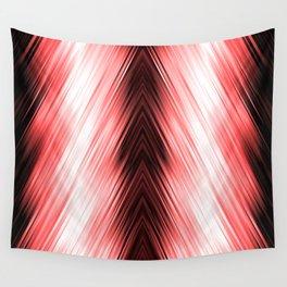 stripes wave pattern 8v1 dr Wall Tapestry