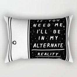 Alternate Reality Rectangular Pillow