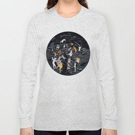 Meowlin Temple Long Sleeve T-shirt