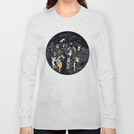 Meowlin Temple Long Sleeve T-shirt
