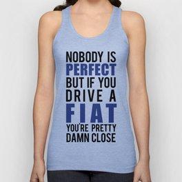 Drive a Fiat  Unisex Tank Top
