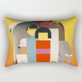 Orient Calls Rectangular Pillow