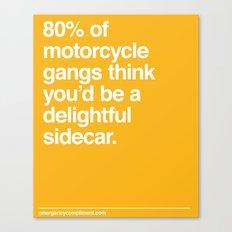 Delightful Sidecar Canvas Print