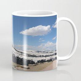 Snowcapped Mountains Coffee Mug