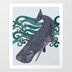 Deep Violet Art Print