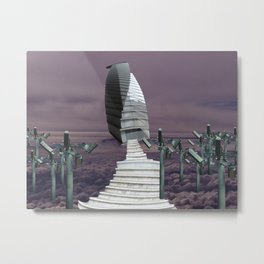 Spacecapitol Metal Print