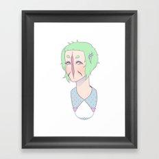 Cutie Framed Art Print