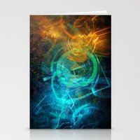 holographic Stationery Cards featuring Holographic Chaos by noistromo