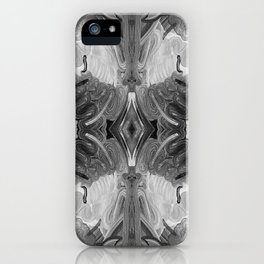 B&W Open Your Eyes iPhone Case