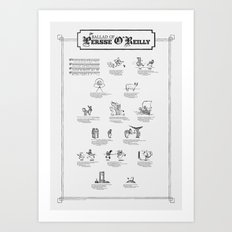 The Ballad of Persse O'Reilly Art Print
