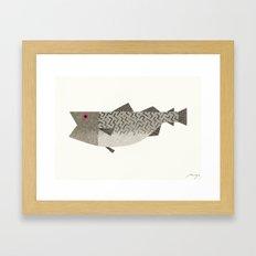Codfish Framed Art Print