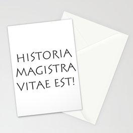 Historia magistra vitae est Stationery Cards
