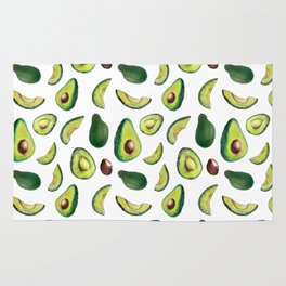 Avocado Pattern Rug