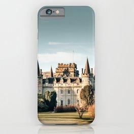 castle in scotland iPhone Case