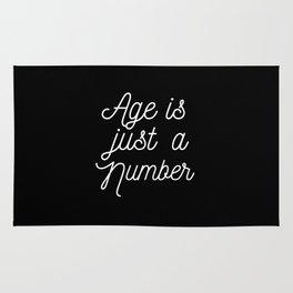 Age is just a number Rug