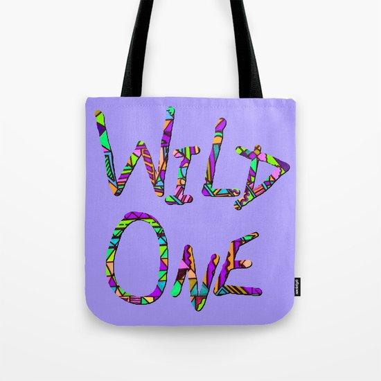 Wild One Three Tote Bag