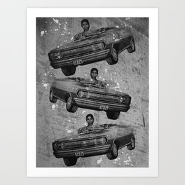 Modesto! India Car Art Print