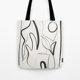 Abstract line art 9 Tote Bag
