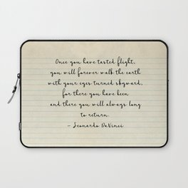 Once you have tasted flight Laptop Sleeve
