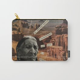 The Difference Between Unconsciousness And Ideas Carry-All Pouch
