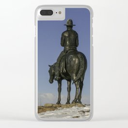 Cochrane Ranch Clear iPhone Case