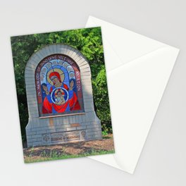 Lourdes University- Commemoration of the Unborn in the Spring (horizontal) Stationery Cards