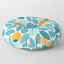 Tropical Mango Tree Floor Pillow