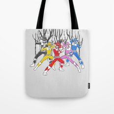 Mighty Morphing Lone Rangers Tote Bag