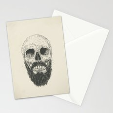 The beard is not dead Stationery Cards