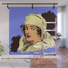 Nurse portrait WW1 Wall Mural