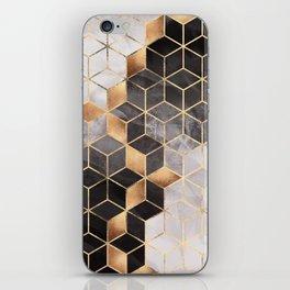 Smoky Cubes iPhone Skin