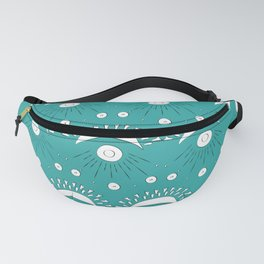 Moon and Rays Fanny Pack