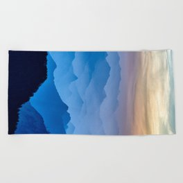Mountains 11 Beach Towel