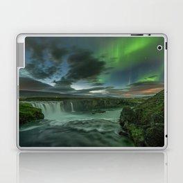 Godafoss Night 1 Laptop & iPad Skin