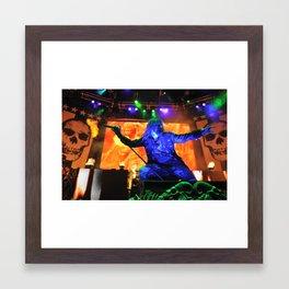 Zombie Horns Framed Art Print