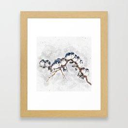 12 on a twig Framed Art Print