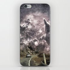 Space gazing Highway One iPhone & iPod Skin