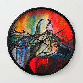 Chasing The Rain  #society6 #decor #buyart Wall Clock