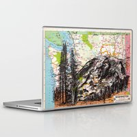 washington Laptop & iPad Skins featuring Washington by Ursula Rodgers