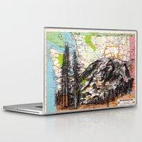 washington Laptop & iPad Skins featuring Washington by Ursula Rodgers