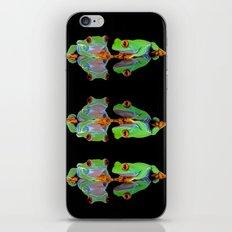 DOUBLE MIRROR FROGGINESS iPhone & iPod Skin