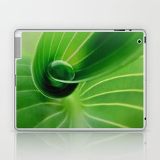 Leaf / Hosta with Drop (2) Laptop & iPad Skin