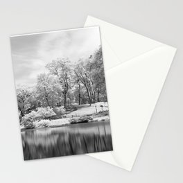 Central Park in Infrared Stationery Cards